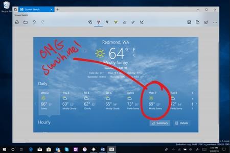 La última vista previa de Windows 10 mejora las capturas de pantalla, extiende Sets, incluye más Fluent Design y otras novedades