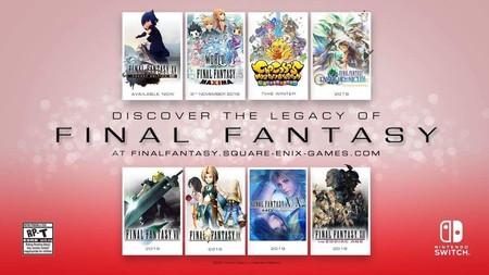 Final Fantasy a tutiplén con el anuncio de Final Fantasy VII, IX, X, X-2, XII y muchos más para Switch y Xbox One (actualizado)
