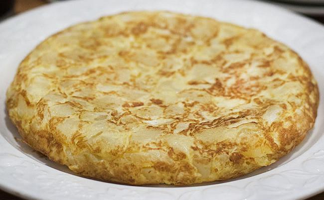Tortilla de patatas: receta con Thermomix