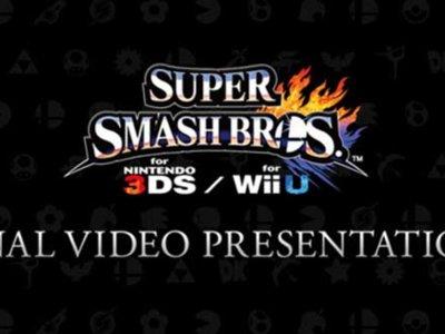 Para cerrar el año vean la presentación especial de Super Smash Bros