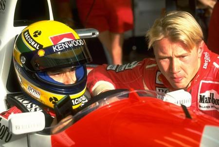 Senna Hakkinen F1 Mclaren 1993