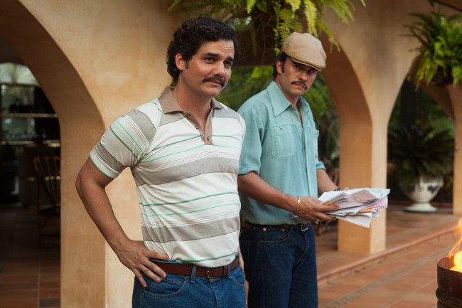 Narcos Wagner Moura Pablo Escobar