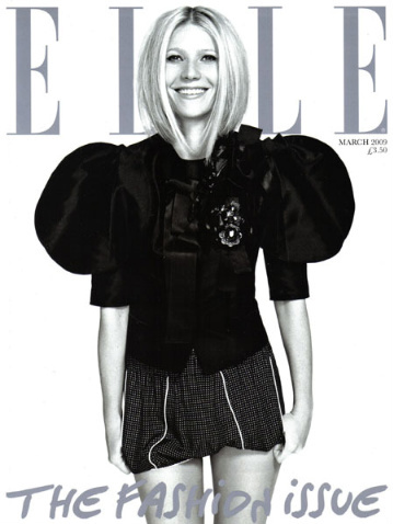 Gwyneth Paltrow portada de Elle marzo