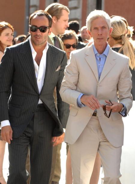 Tom Ford confirma su matrimonio con Richard Buckley