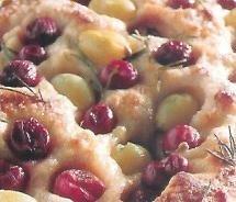 Pizza dulce al romero