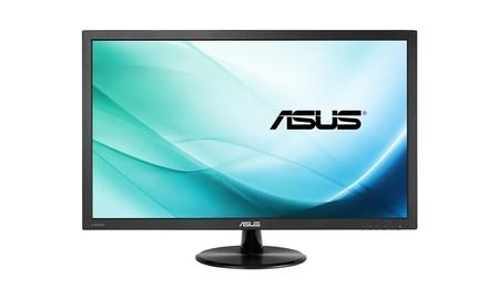 ASUS VP228HE, un monitor gaming de lo más económico, ahora por sólo 84,99 euros por un monitor en PcComponentes