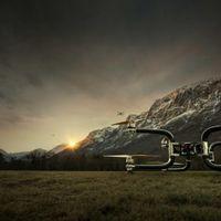 Este dron levanta hasta 300 kg durante 45 minutos