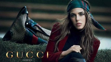 Princesa, nunca por sorpresa. Carlota Casiraghi para Gucci.
