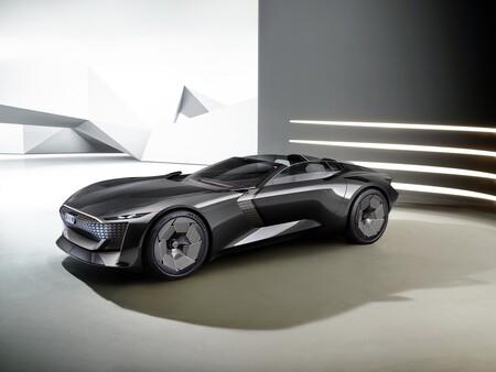 El Audi Skysphere Concept es un convertible que cambia de tamaño y esconde el volante