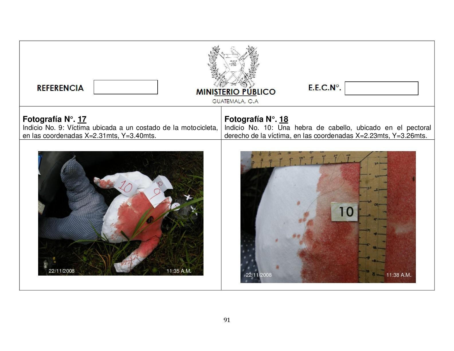 Foto de Simulación balacera contra motorista (9/12)