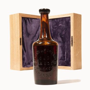 A subasta el supuesto whiskey americano más antiguo conservado