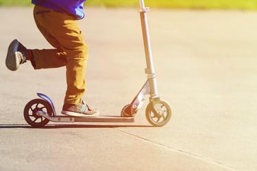Los niños a los que les encantaba montar en patinete ¿hay alguno al que no le encante?