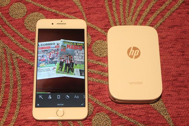 HP Sprocket, análisis: alguna impresora(imprimir) portátil acompañada de alguna completa app