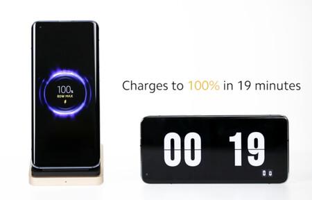 """Xiaomi muestra un sistema de carga rápida inalámbrica de 80W que """"asegura la carga al 100% en 19 minutos"""""""