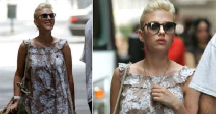 Scarlett Johansson se pasea por Barcelona (rodeada de guardaespaldas)