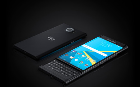 Priv By Blackberry Angled Keyboard