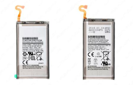 Samsung Galaxy S9 y S9 Plus baterías