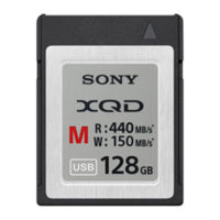Sony presenta nuevos modelos de tarjetas XQD y abre el debate ante una posible alianza con Nikon