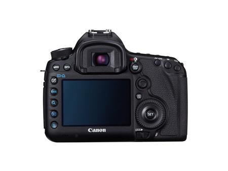 Canon EOS 5D Mark III vista trasera