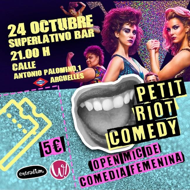 """El 'Riot Comedy' de PennyJay crece y ya busca salir de Madrid: """"No paran de llegarme mensajes de chicas que quieren subir a actuar"""""""