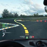El nuevo HUD de realidad aumentada de Porsche y Hyundai podrá mostrarte la línea de carrera ideal