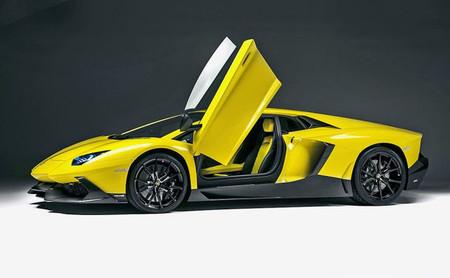 Lamborghini Aventador LP720-4 50 Anniversario, a punto para Shangái