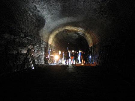 Visita un túnel secreto en Nueva York