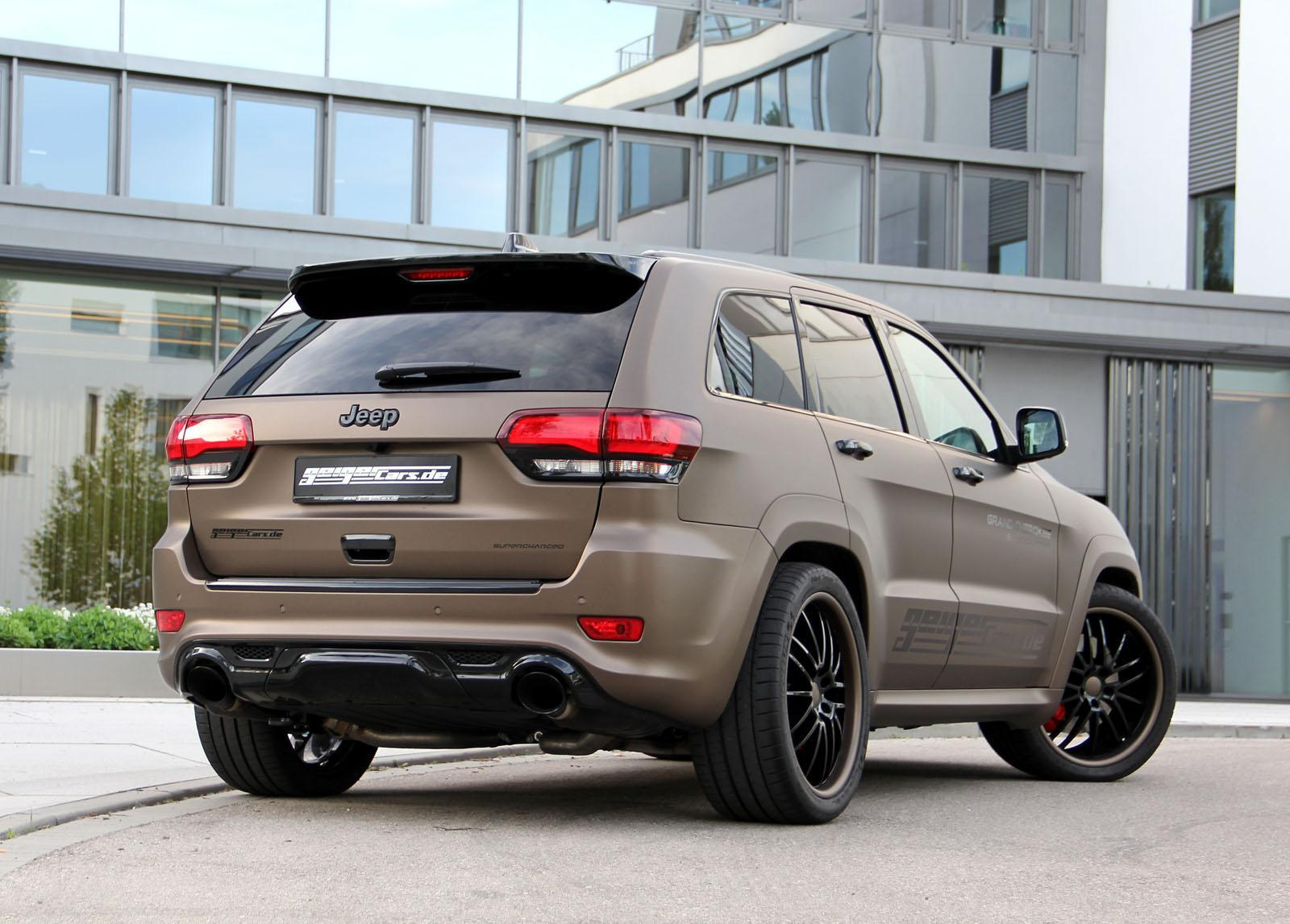 Foto de Geiger Cars Jeep Grand Cherokee SRT (2/15)