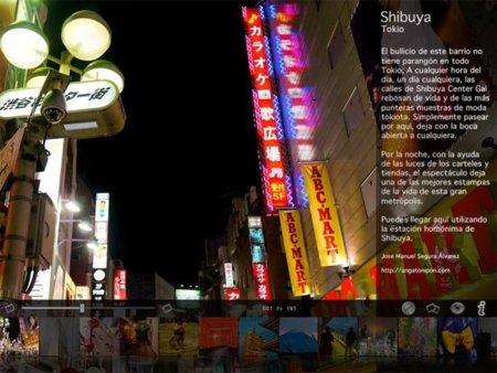 Aplicación solidaria con Japón