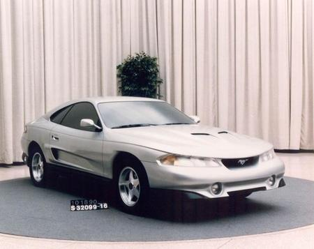 Ford Mustang Rambo Concept 1990