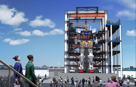En Japón van más allá con sus robots gigantes: están construyendo un Gunman de 20 metros que podrá andar