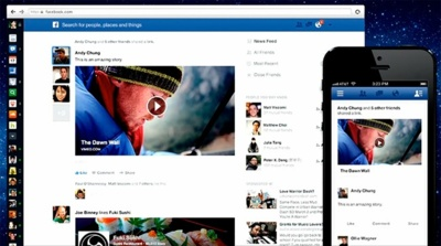 Facebook presenta un nuevo y simplificado diseño para su feed de noticias