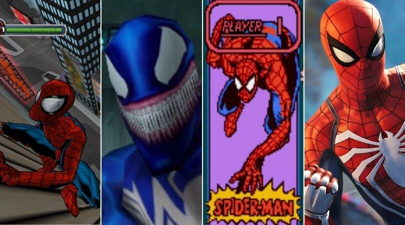 Todos los juegos de Spider-Man de peor a mejor