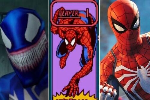 Todos los juegos de Spider-Man ordenados de peor a mejor
