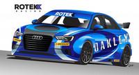 Rotek Racing con un Audi S3 Sedan en el BTCC