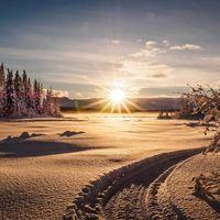 Crece el catálogo de fondos en Microsoft Store para Windows 10: ahora llegan los paisajes nevados