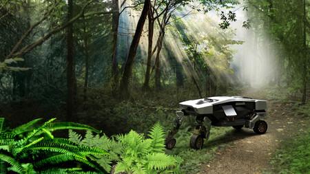 Hyundai desvela TIGER, su vehículo con cuatro patas: un robot que cambia entre ruedas y patas según lo necesite