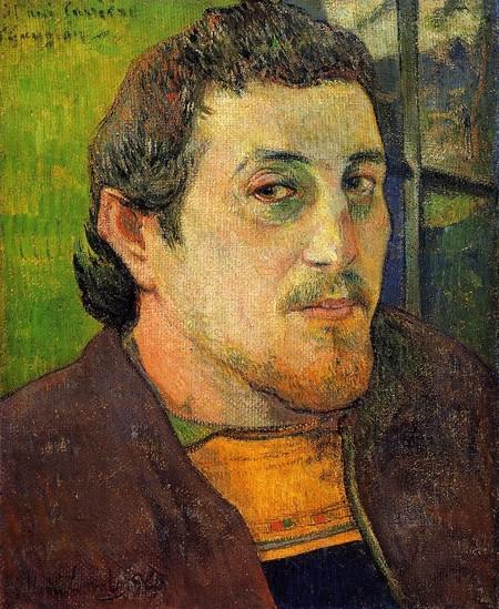 Gauguin, autorretrato, 1888