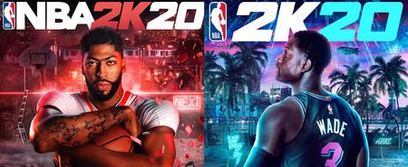 Anthony Davis y Dwayne Wade serán los jugadores que aparecerán en las ediciones de NBA 2K20