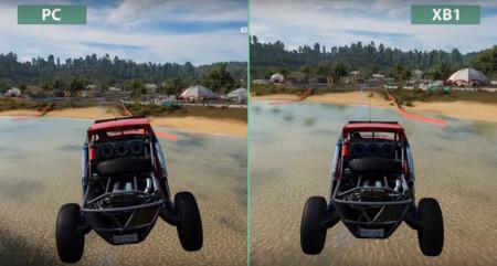Compara tú mismo las diferencias de Forza Horizon 3 entre Xbox One y PC