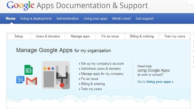 Google Apps facilita el trabajo de los administradores centralizando la información