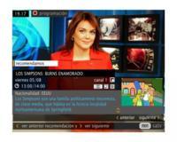 MHP, ejemplos de servicios interactivos en la TDT