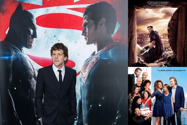 Batman V Superman, Resucitado y Mi Gran Boda Griega 2