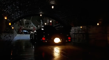 El coche de Batman de Tim Burton