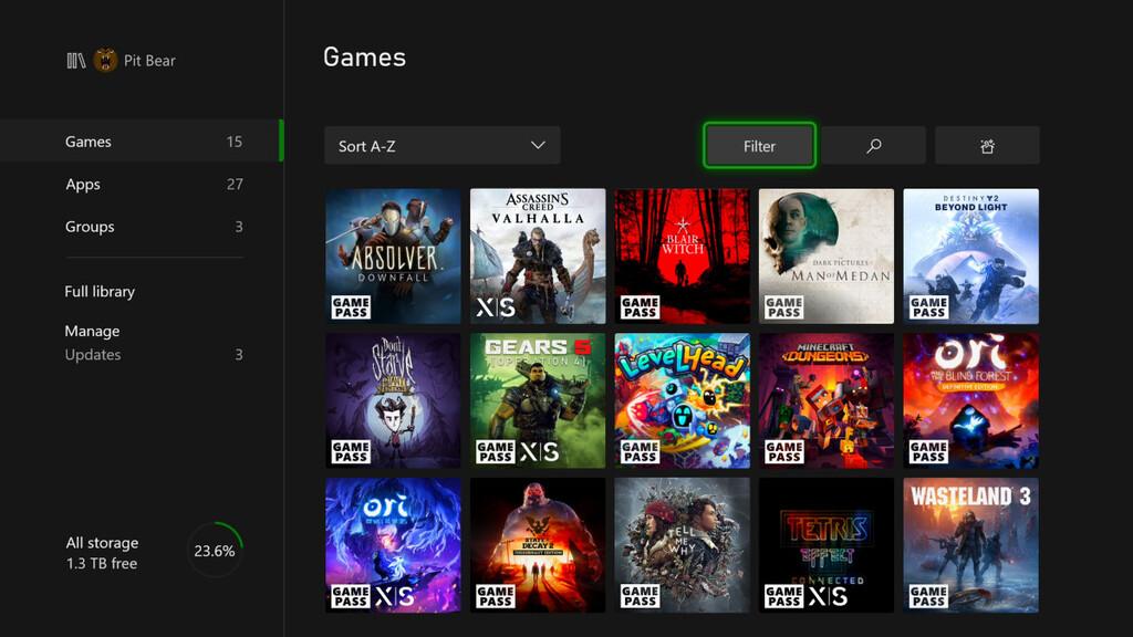 Xbox Series se actualiza por primera vez: estas son todas las novedades que trae bajo el brazo
