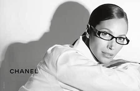 Christy Turlington para Chanel Eyewear