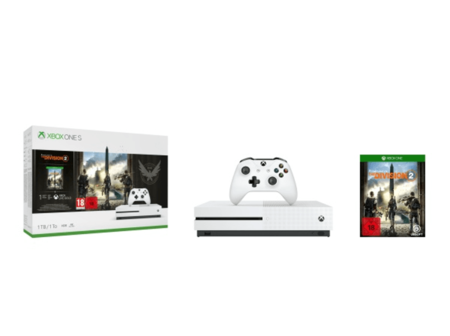 Consola Xbox One S 1 Tb Blanca The Division 2