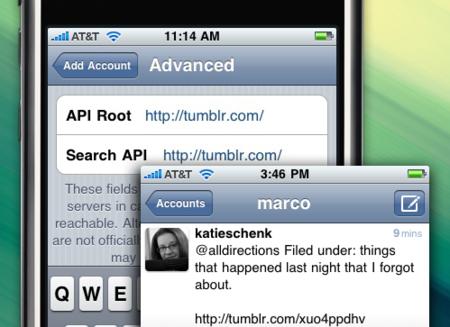Utiliza Tumblr desde tu cliente de Twitter en el iPhone