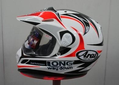 Arai introduce en su gama los cascos de Long Way Down