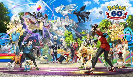 Pokémon GO celebra su cuarto aniversario anticipando la llegada de los Pokémon de la sexta generación